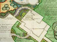 Учет текущих элементов ландшафта при проектировании