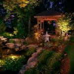 ландшафтное проектирование - свет
