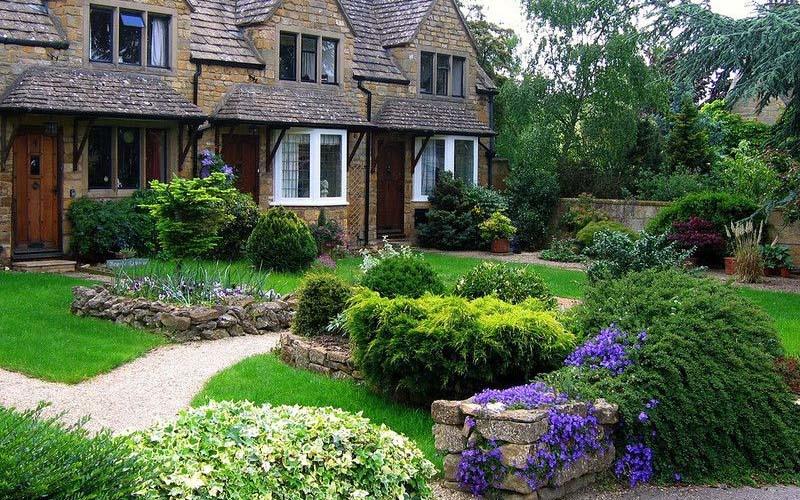 Английский ландшафтный дизайн - Луговая растительность