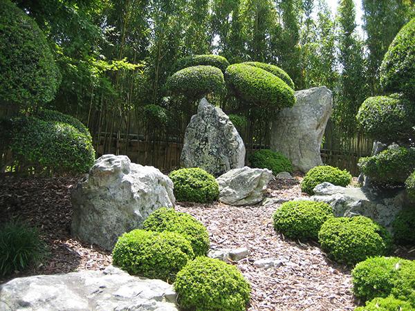 Камень в ландшафтном дизайне - Каменная стена