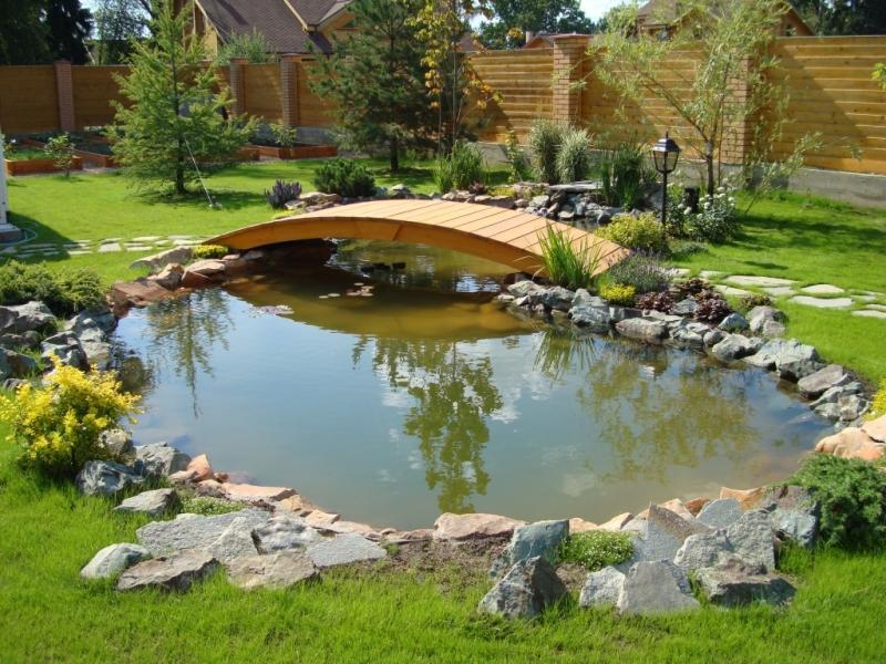 Ландшафтный дизайн - водоемы - Прудик