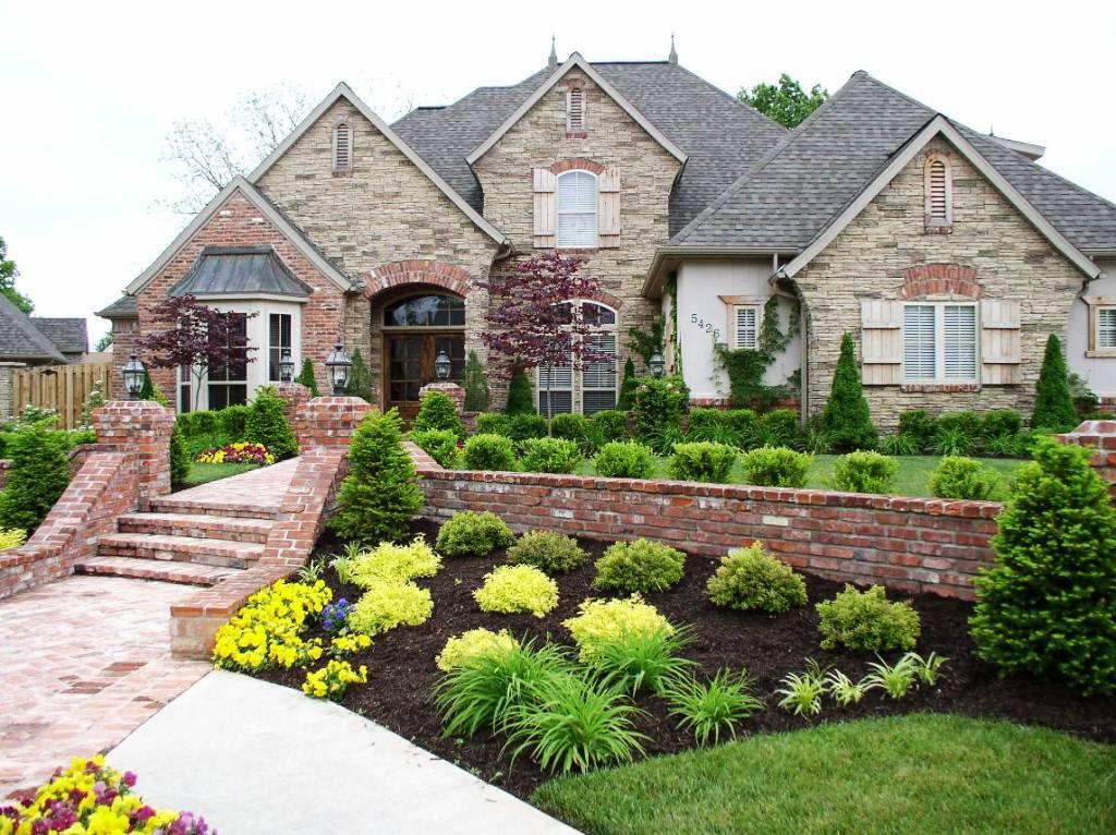 Ландшафтный дизайн загородного дома - Беседка для шашлыка