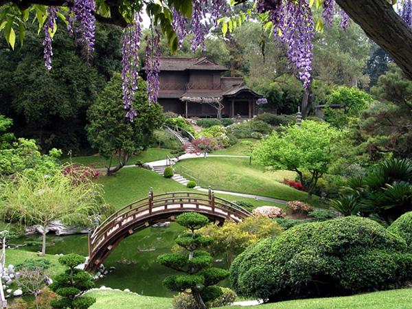 Ландшафтный дизайн - китайский стиль - Чайный домик