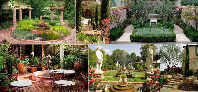 Ландшафтный дизайн - средиземноморский стиль - Цветы