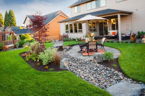 Ландшафтный дизайн частного дома - Полисадник