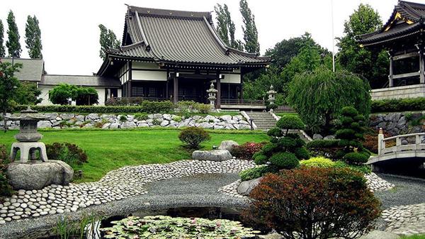 Японский стиль в ландшафтном дизайне - Дерево